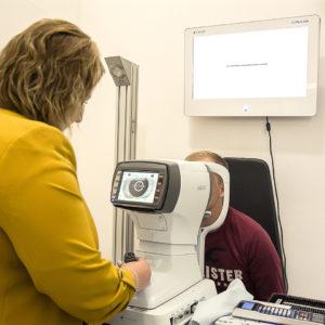 Měření dioptrií a zraku