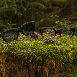 Dřevěné brýle