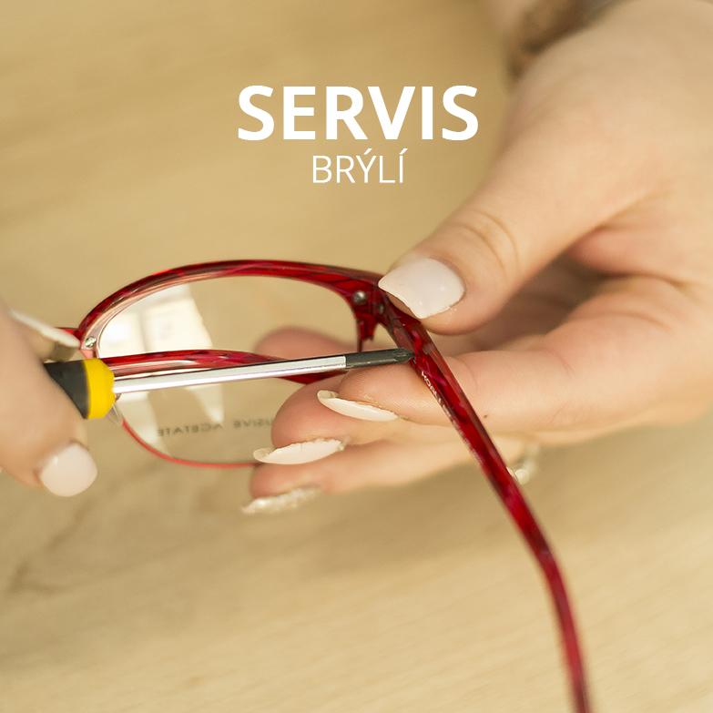 servis brýlí